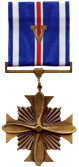 Distinguished Flying Cross with V