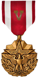 Meritorious Service Medal with V