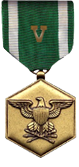 Navy/MC Commendation Medal with V